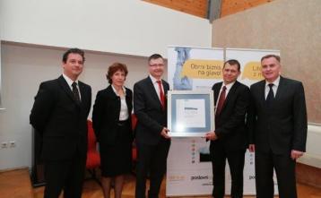 Podelitev priznanja Logist leta 2012
